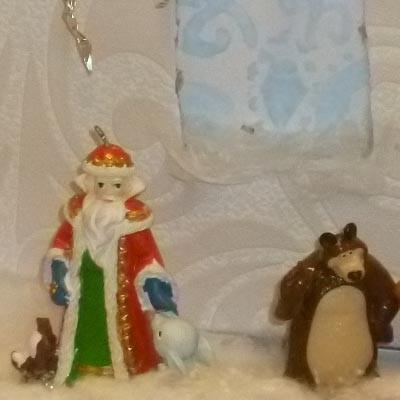 Детские новогодние поделки Дом Деда Мороза