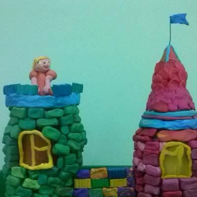 Мастер-класс Сказочный замок