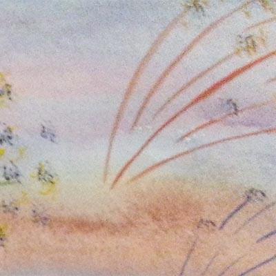 Праздничный салют рисунок к 9 мая