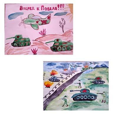 Рисунок Броня крепка и танки наши быстры