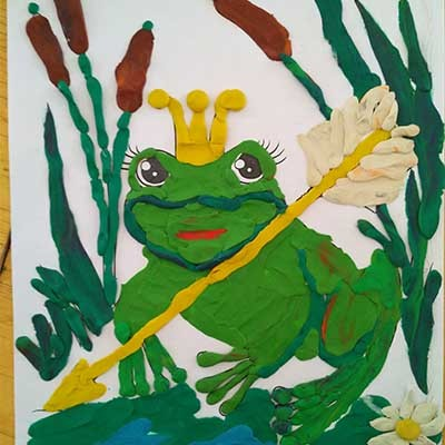 Царевна лягушка Декоративно-прикладное творчество