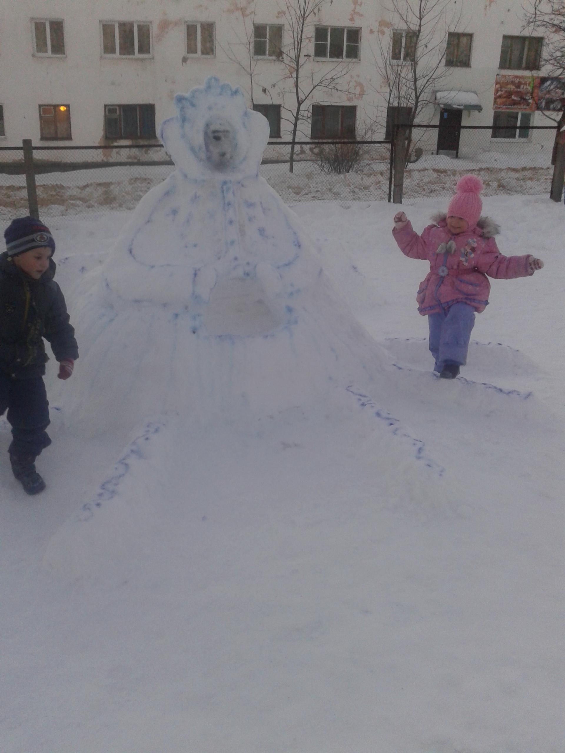 Оформление по сказке Снежная королева