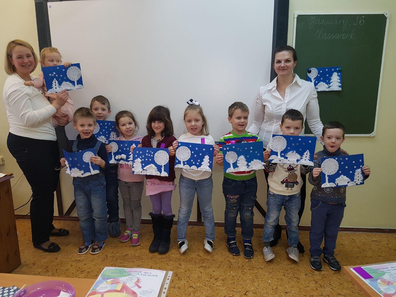 Мастер – класс для дошкольников