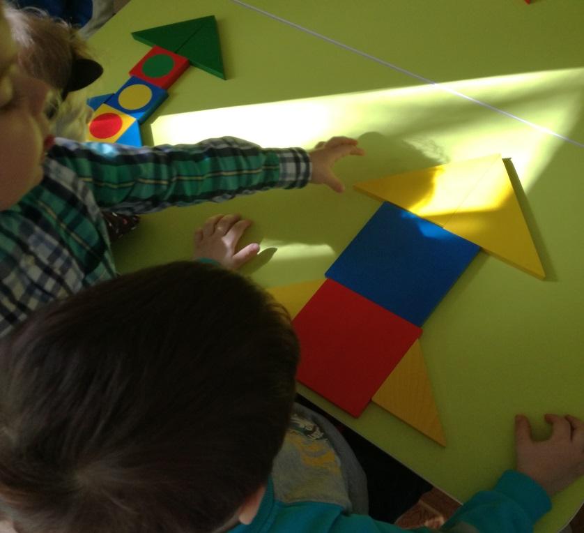 «12 Апреля - День космонавтики» с использованием игрового набора «Дары Фребеля».