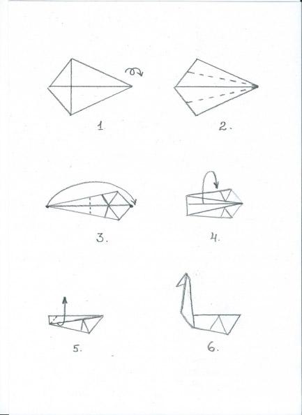 ООД по художественно-эстетическому развитию техника оригами