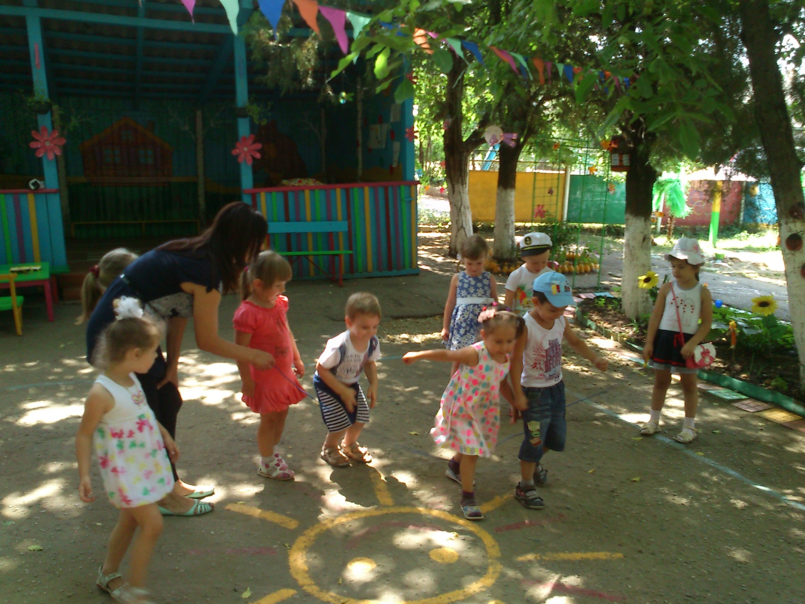Творческий проект для детей средней группы Летнее настроение