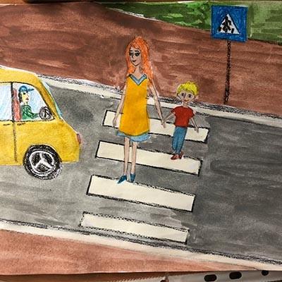 По дороге в детский сад Правила дорожного движения