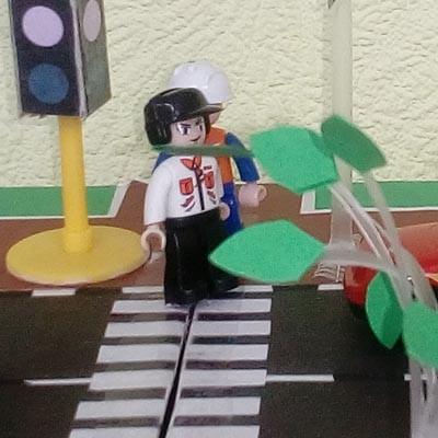 Поделки на тему Правила дорожного движения