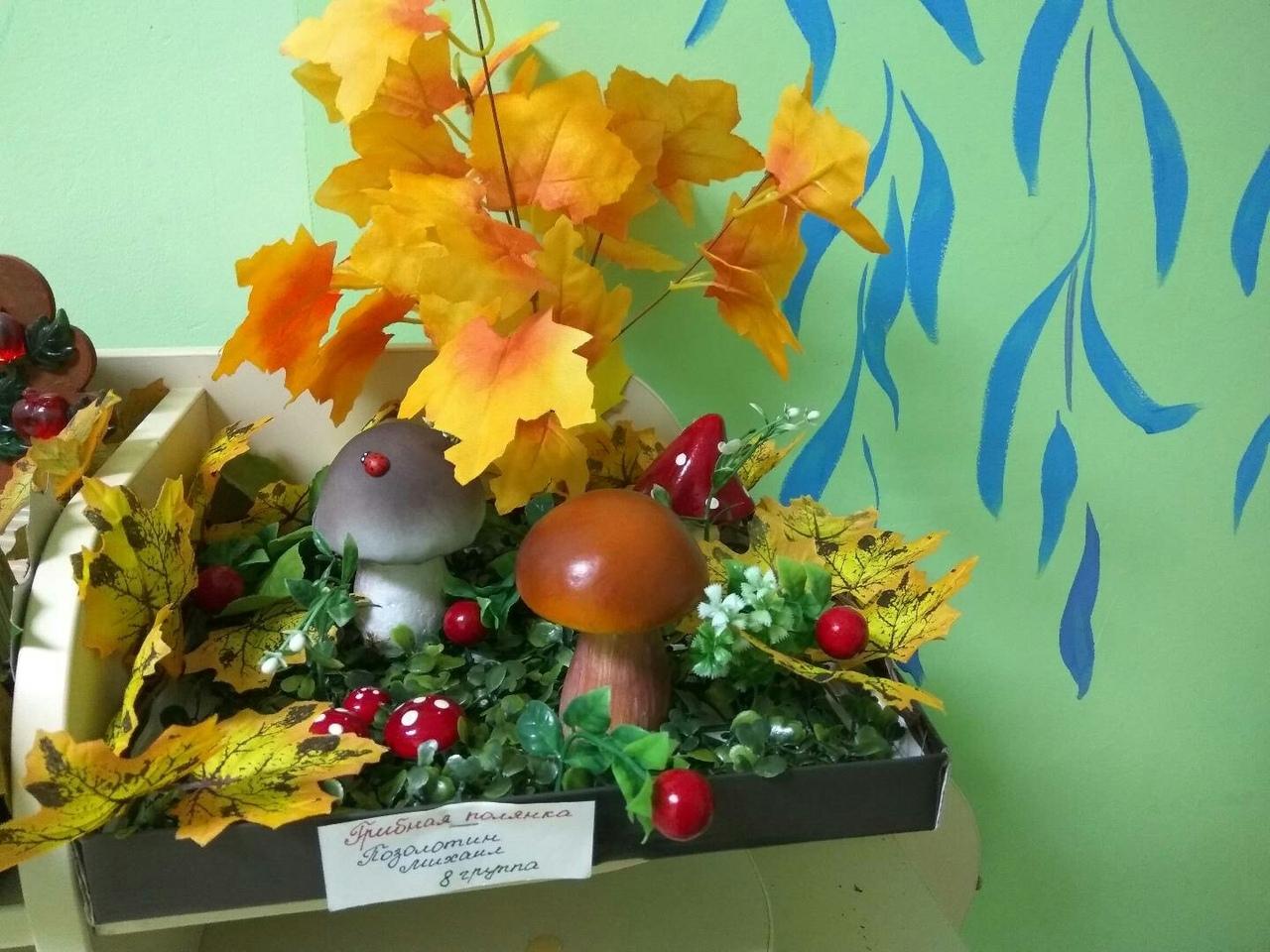 Грибная полянка Осенняя фантазия