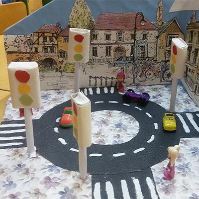 Наш безопасный городок Правила дорожного движения