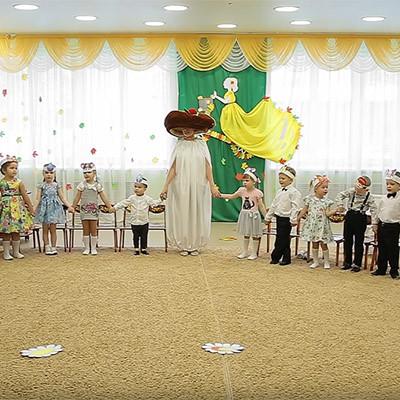 Музыкально-театрализованная постановка Под грибком
