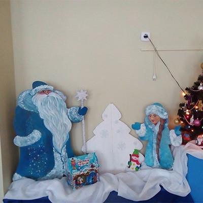 Украшение группы к Новогодним праздникам