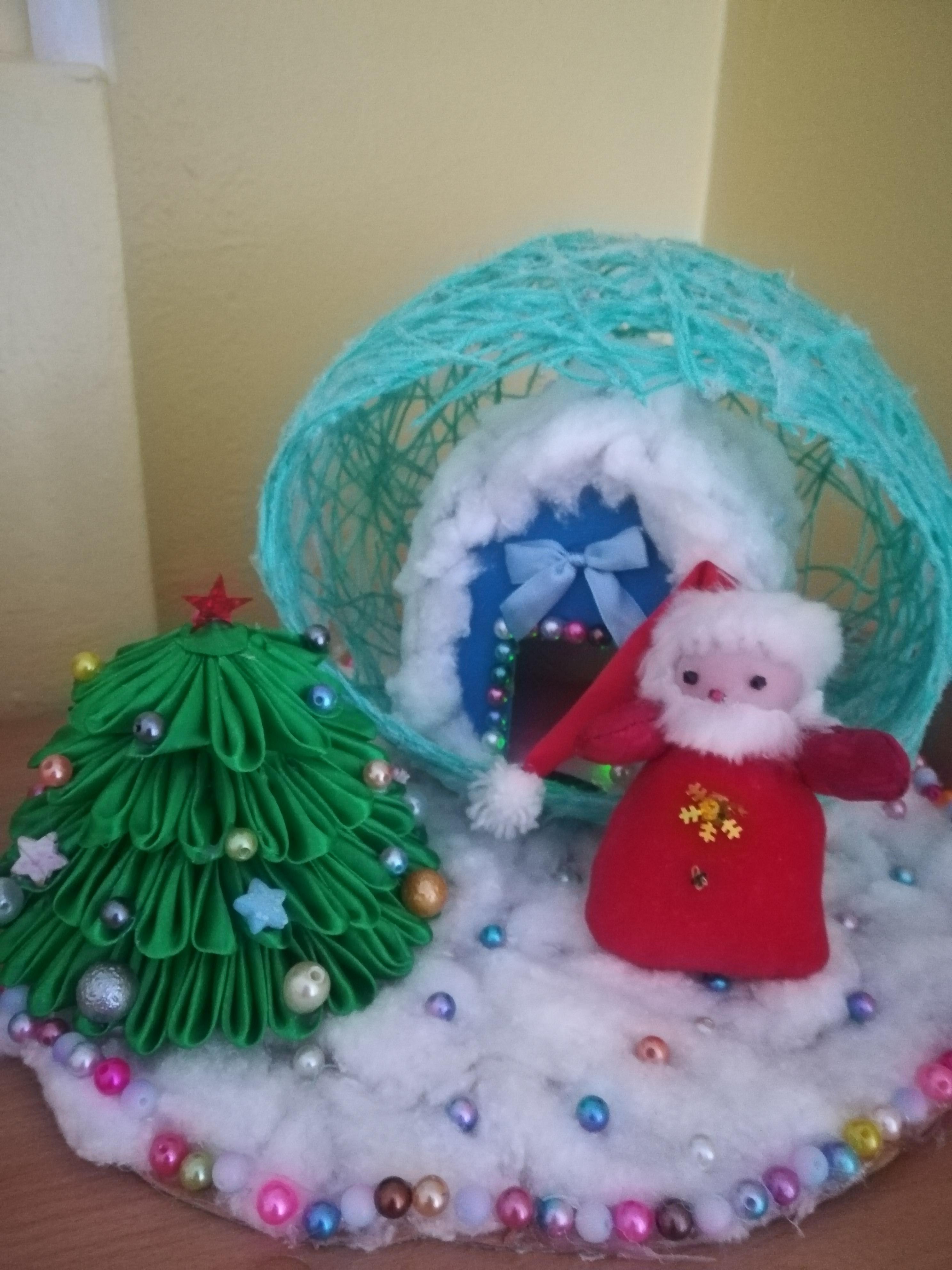 В ожидании Дедушки Мороза Детские новогодние поделки