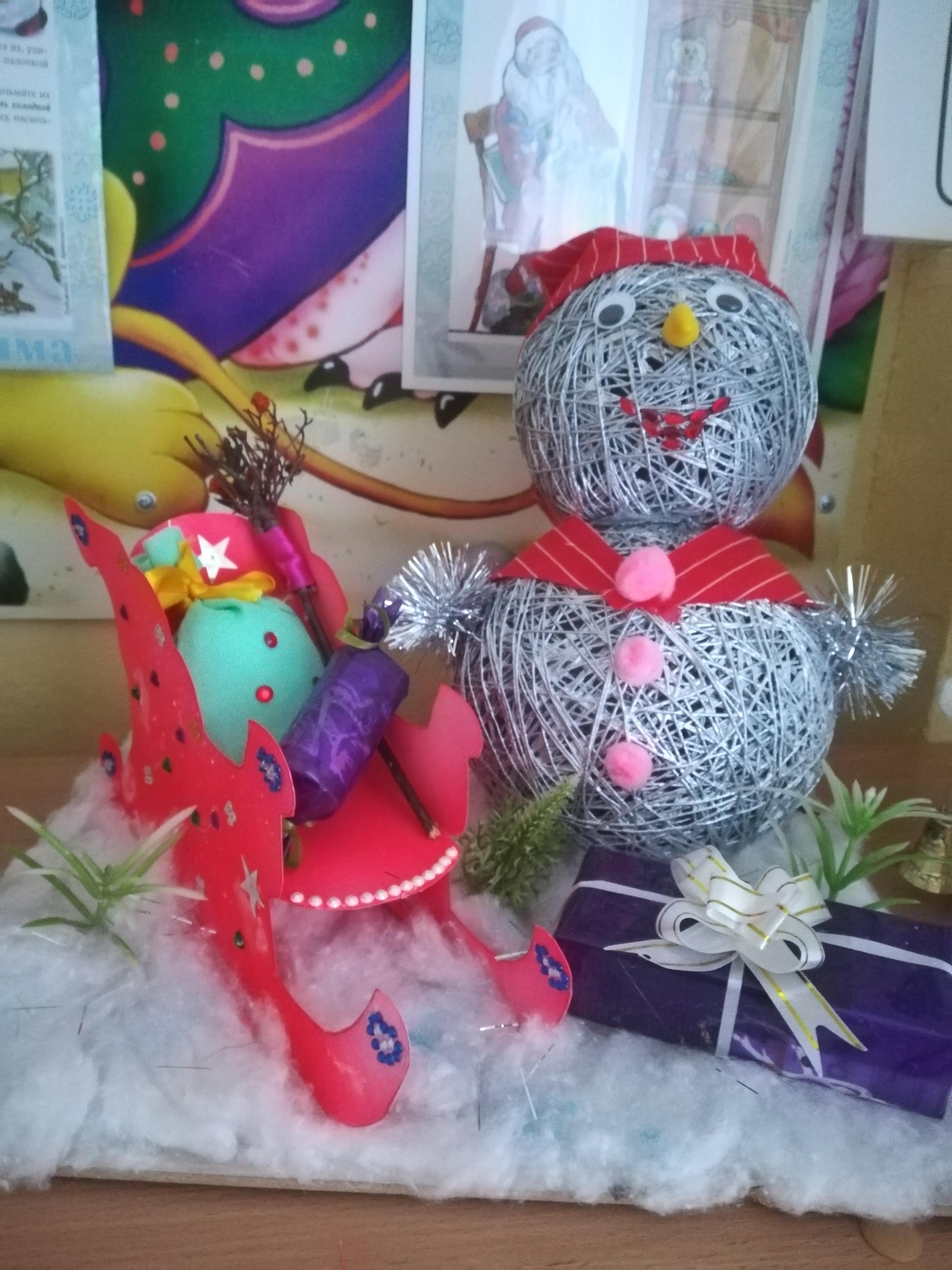 В ожидании чуда Детские новогодние поделки