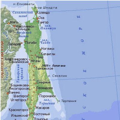 Детский исследовательский проект Топонимы острова Сахалин