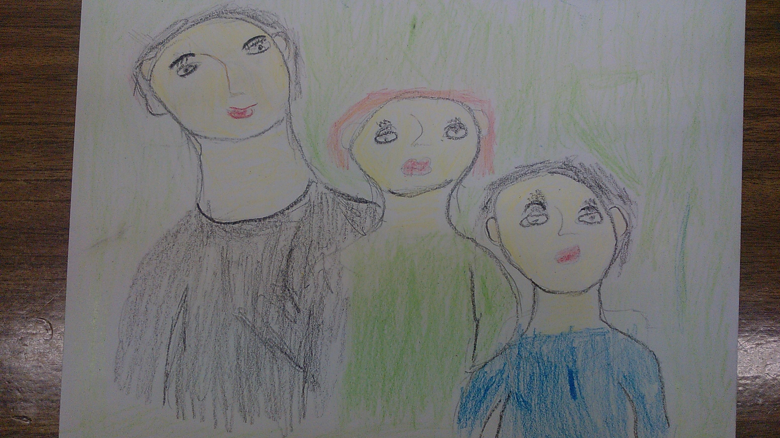 Моя семья. Мама, брат и я